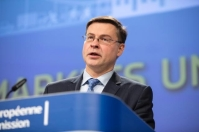 Mr Valdis Dombrovskis is the Vice-President of the European Commission responsible for the Euro and Social Dialogue © European Union, 2019